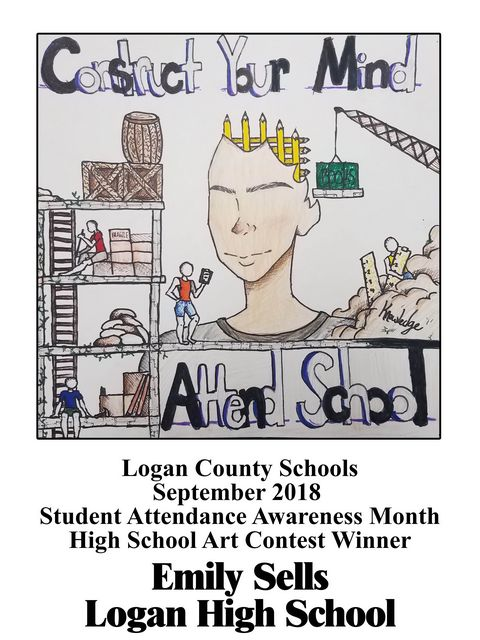 Image of winning attendance poster